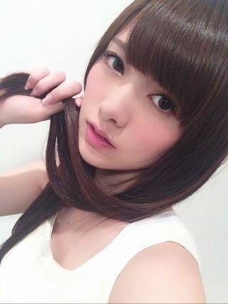 白石麻衣 公式ブログ straight hair