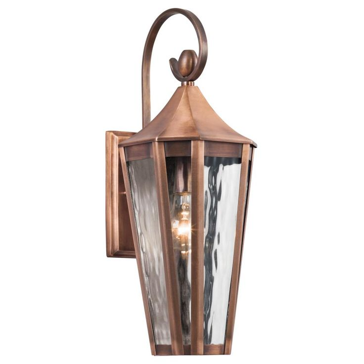Rochdale Antique Copper One Light Medium Outdoor Wall Sconce Wall Mounted  Outdoor Outdo
