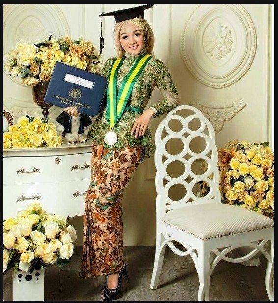 Model Hijab Modern Untuk Kebaya
