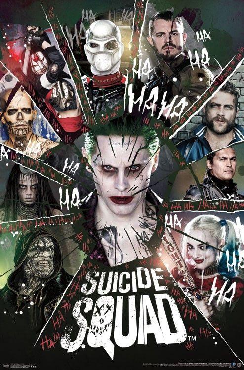 Suicide Squad (24x36) - FLM15040