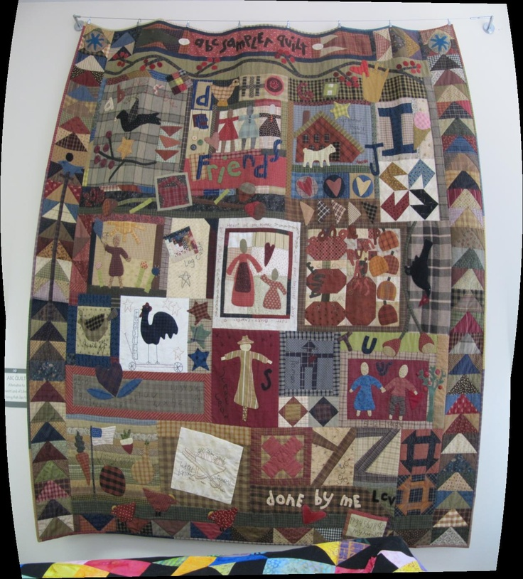 ABC sampler quilt, kit by The Buggy Barn, designed by Cheri Payne