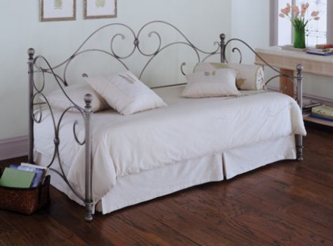There are actually different kinds of beds that we can have and use at home, daybed is one. The daybed is a kind of couch where you can also use it as your bed.