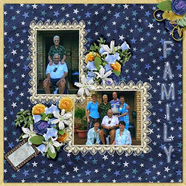 Sunny Expression by Patty B Scraps is such a beautiful digital scrapbooking collection.