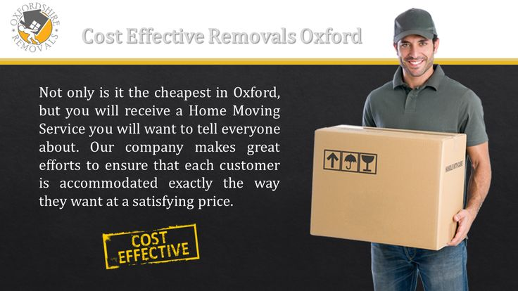 Cost Effective Removals Oxford