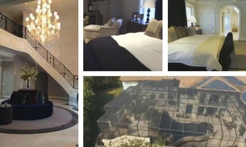 The Living Room, Bedroom and Pool
