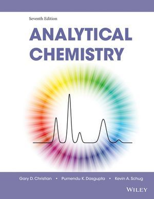 Free Download Analytical Chemistry (7th edition) by Gary D. Christian in pdf. https://chemistry.com.pk/books/analytical-chemistry-7e-gary-d-christian/