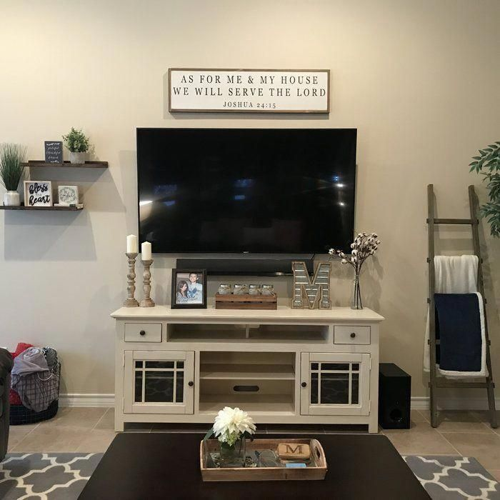 Pin By Ale On Decor Home Living Room Farm House Living Room Living Room Tv Wall Tv Stand Decor