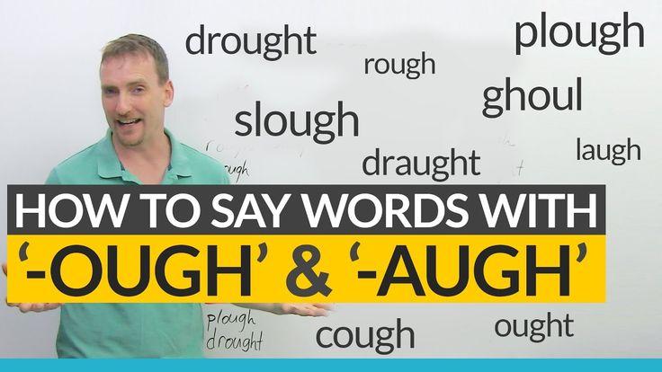 how to teach ough words