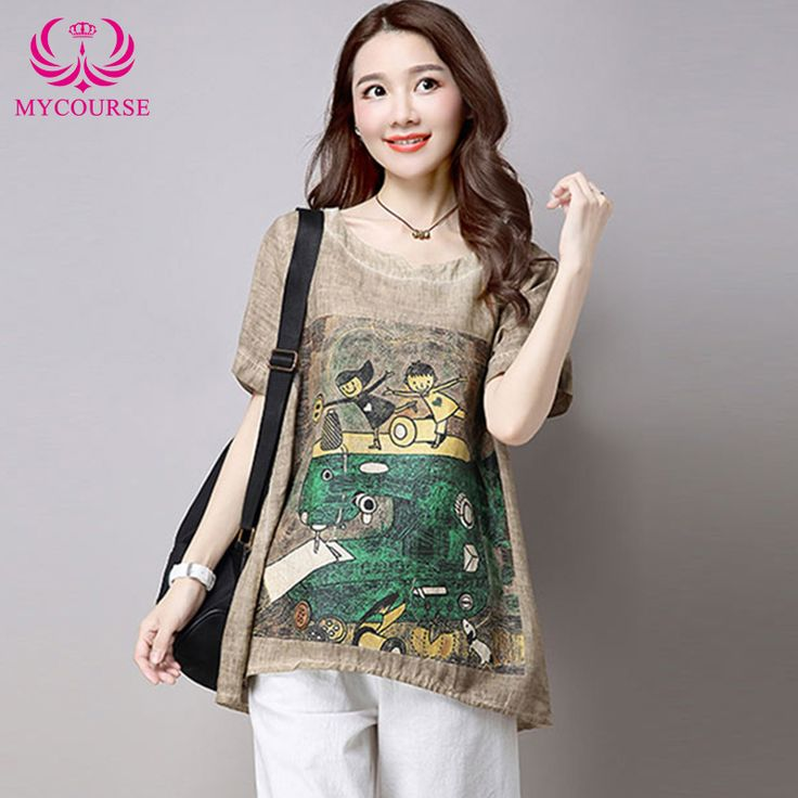 Find More T-Shirts Information about MYCOURSE New Style Fashion Cartoon Sewing Machine Print 2016 High Quality Cotton Linen T Shirt V Sleeve Women Tee Shirts Tops,High Quality shirt with print,China printed corduroy Suppliers, Cheap shirt screen printing equipment from MYCOURSE on Aliexpress.com