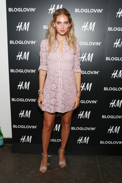 Chiara Ferragni attends the Blog Lovin' Awards at Industria Superstudio on September 12, 2016 in New York City.