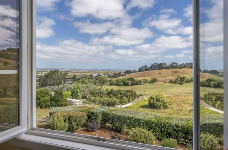 Expansive rural views from the second storey bedrooms