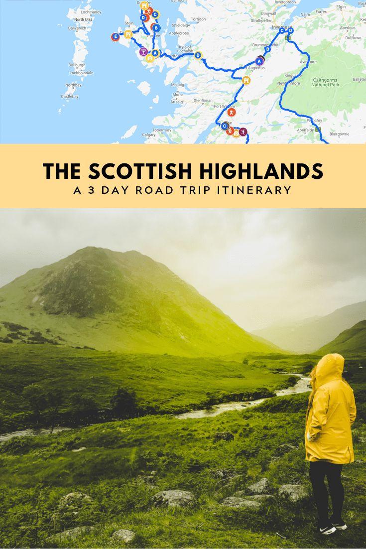 Entdecken Sie das schottische Hochland in 3 Tagen. Eine vollständige Anleitung zur Erkundung der bes …   – Study Abroad✈️