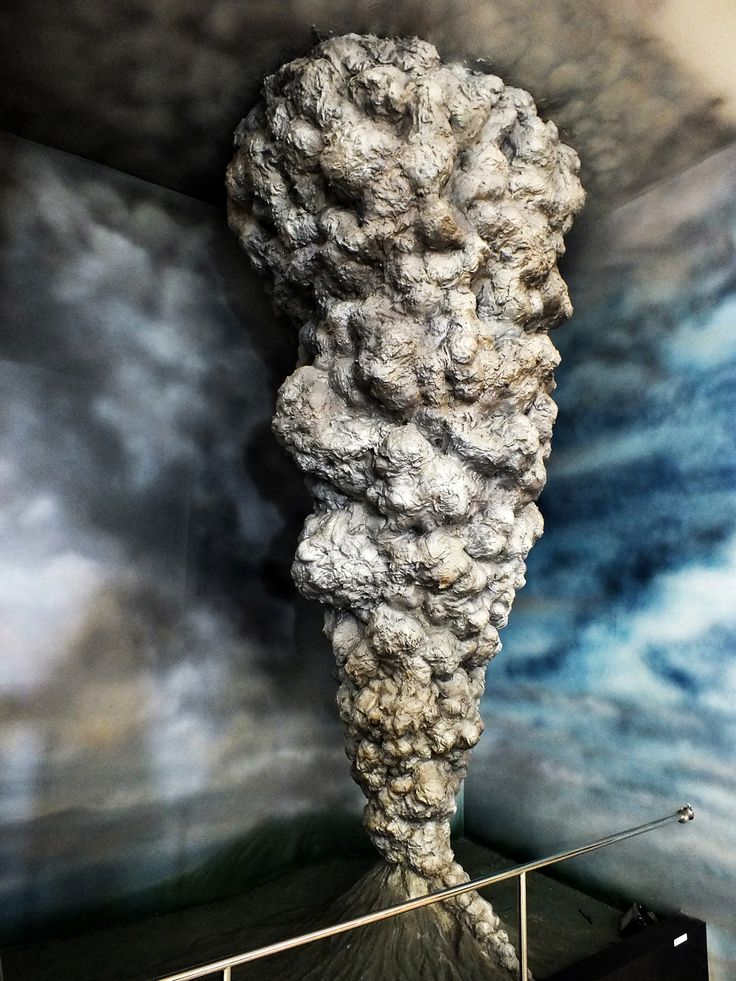 Replika letusan Gunung Merapi, Indonesia