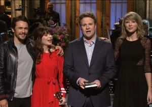 This past weekend's SNL featured Seth Rogen poking fun at James Franco and his recent scandal involving his pursuit of a 17-year-old girl via Instagram. Through the use of television and comedy, Rogen was able to downplay the controversy his good friend had found himself a part of. With controversy in the digital age, it seems that not only is humor frequently implemented as a tactic to deal with it, but it also blurs the line of right and wrong and what is inappropriate.