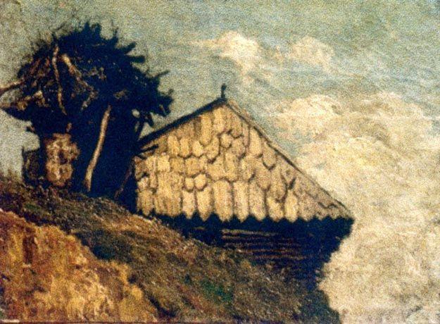 Peasant hut - Ion Andreescu