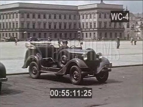 Przedwojenna Warszawa w kolorze 1938 unikalny film! Pre-War Warsaw in color 1938 unique film! - YouTube