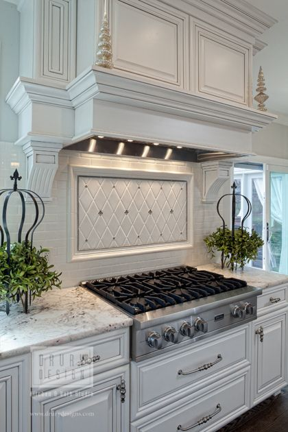 Best KITCHEN SPLASHBACKS Images On Pinterest Cook Dream - Country kitchen splashback ideas