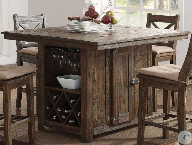 Bar Height Kitchen Island Table