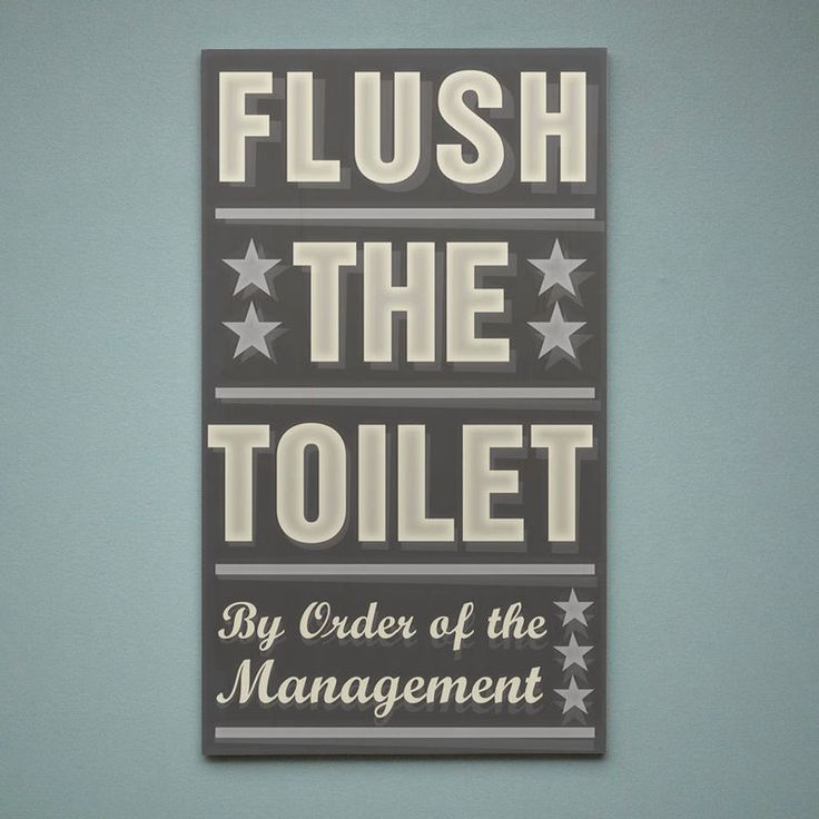 neutral bathroom art flush the toilet by order of the management word art block 121 x 21 gray and yellow decor bathroom wall art