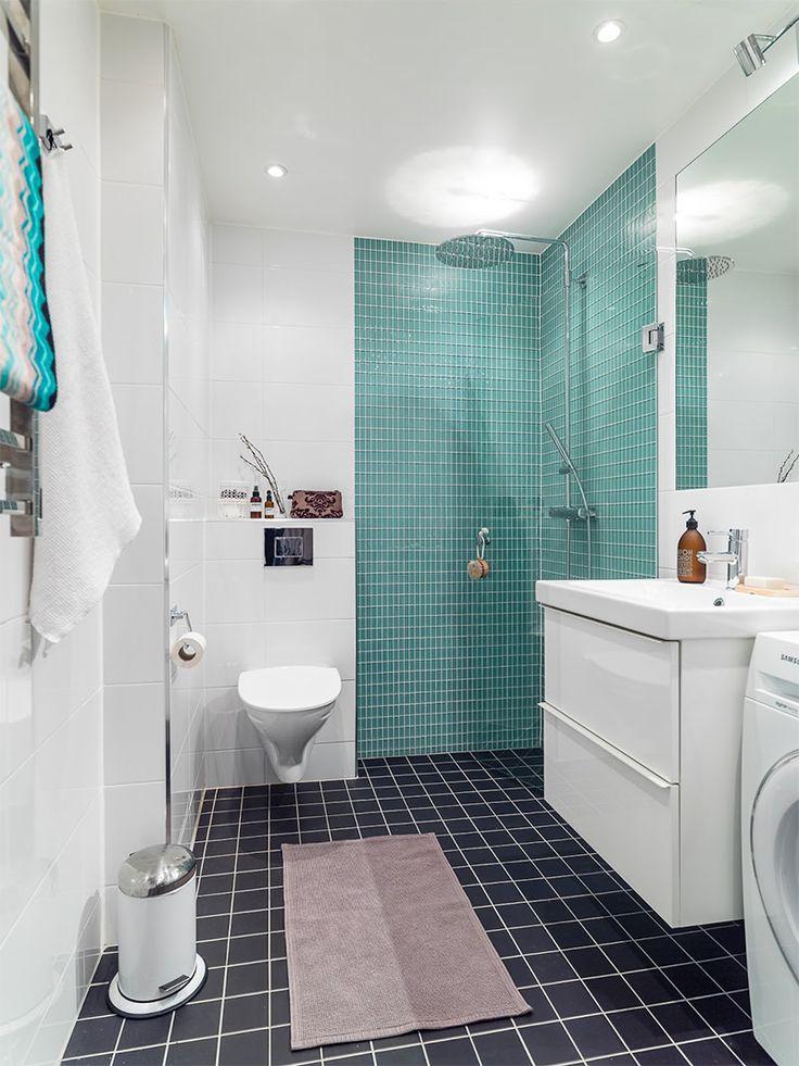13banheiroapartamentopequenotoquefeminino  Salle de bain [ 6 m2 ]  Pin -> Etiqueta Banheiro Feminino