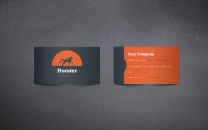 business business card templates vector