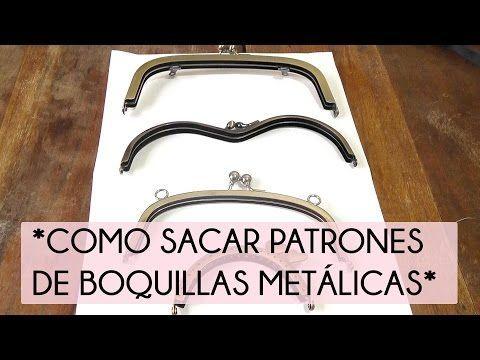 Cómo sacar patrones de boquillas metálicas | Manualidades …
