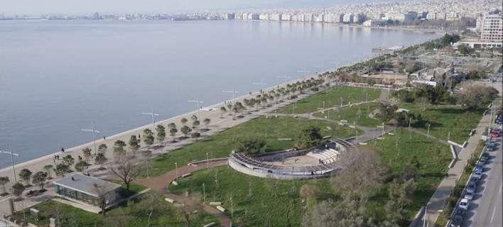 Η εντυπωσιακή μεταμόρφωση του παραλιακού μετώπου της Θεσσαλονίκης μέσα σε 4 λεπτά [βίντεο]