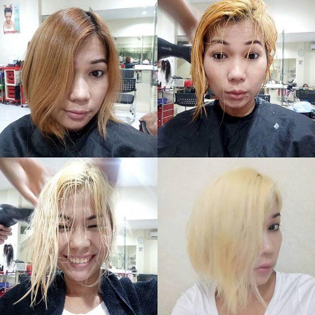 Top 100 bleaching hair photos #bleachedhair #hairbleaching #bleachinghair #bleaching #ulinliasalon #liasalon