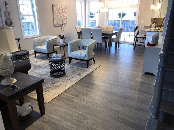 Boardwalk Hardwood Bamboo Flooring Sample in 2020 Grey