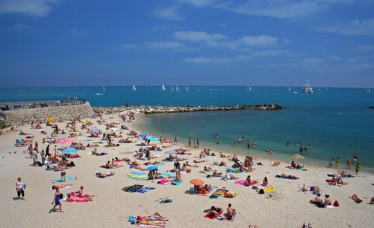 Playas nudistas en antibes france
