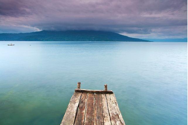 Panorama danau ranau -  sumatera selatan