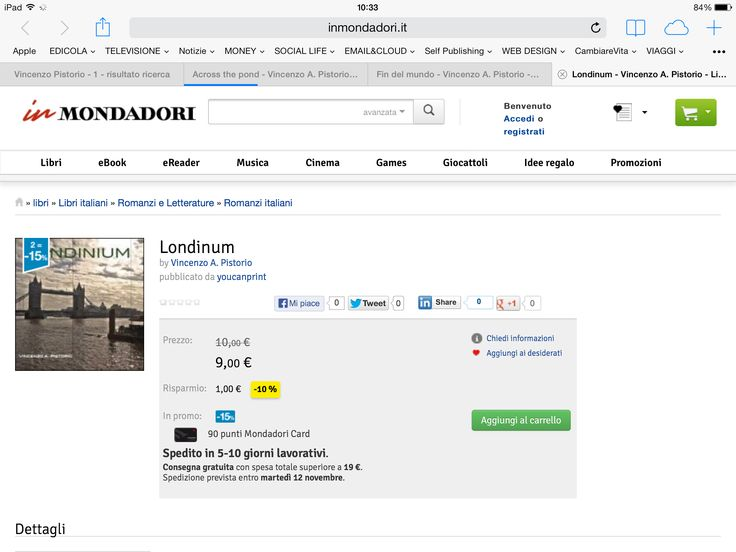 http://www.inmondadori.it/Londinum-Vincenzo-A-Pistorio/eai978889112291/