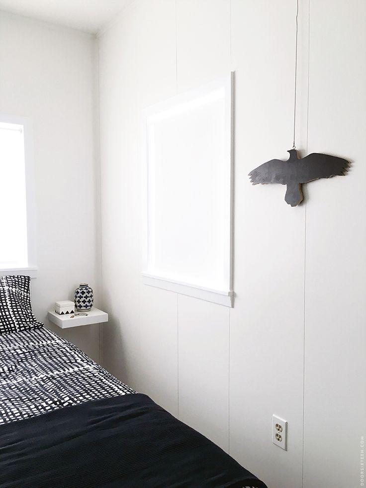 floating shelves as bedside tables ikea bedroom makeover