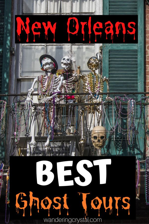 New Orleans Halloween 2020 Travel Packages The 8 Best Ghost Tours in New Orleans   Wandering Crystal in 2020