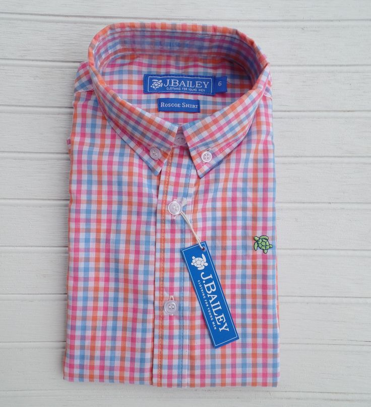 J Bailey by The Bailey Boys - Paradise Plaid Roscoe Button Down