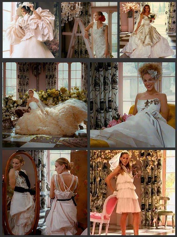 Carrie Bradshaw wedding dresses Vogue ....