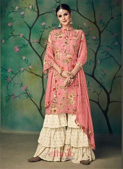 ea9dfc0f68 Sharara suits online | buy designer sharara salwar suit for daily wear -  ethnicwholesale.com