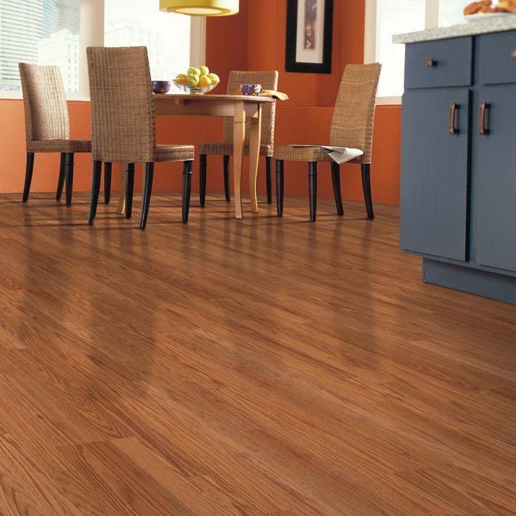 Oak Laminate Flooring Kitchen: Shop Allen + Roth 7.48-in W X 3.93-ft L Butterscotch