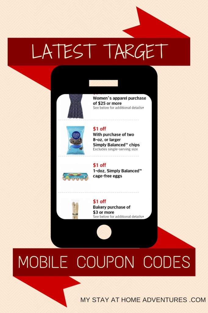 how to get mobile coupons for target