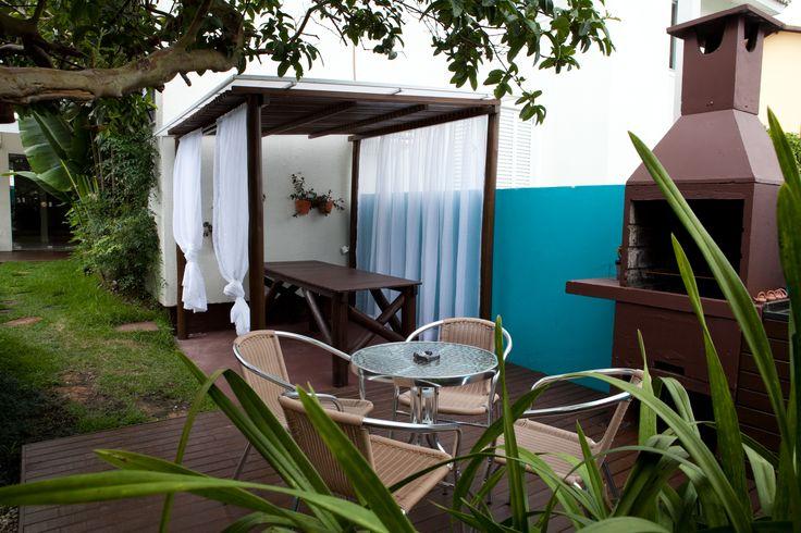Churrasqueira da Pousada dos Chás - Jurerê - Florianópolis, SC - Brasil. #churrasco #bbq #brazil #pousadadoschas #jurere #ferias #tea