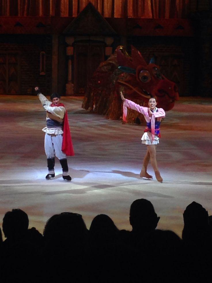 Mulan Disney on Ice