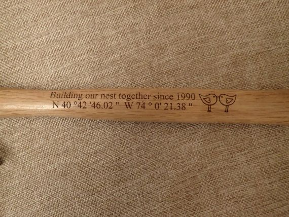 Valentine's Day Personalized Hammer Unique by BonBonCrush on Etsy