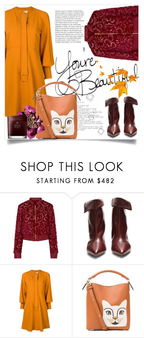 """Bez naslova #3156"" by kristina-bishkup ❤ liked on Polyvore featuring La Perla, Isabel Marant, See by Chloé, Loewe and Molton Brown"