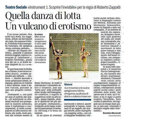 Spettacolo Compagnia Zappalà Danza