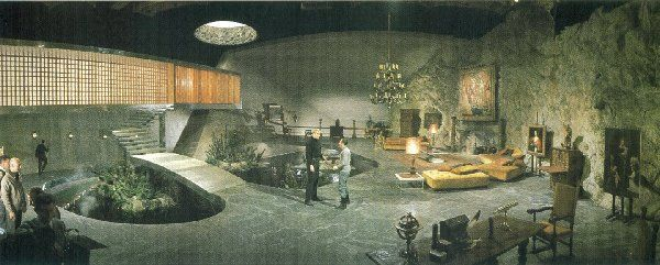Ken Adam's masterful set design for You Only Live Twice