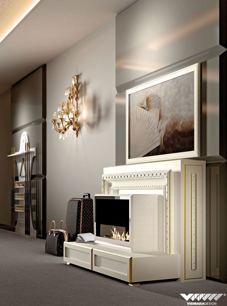 This is Lift & Fire Tv stand by #vismaradesign.Luxury, elegance and finest material are the main feature of our furniture. #homeliving #interiordesign #luxury