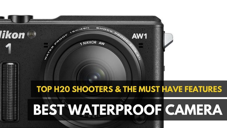 Our best waterproof camera 2016 list includes basic & intermediate cameras that work in water depth of 49 feet & deeper without the need for a special case.