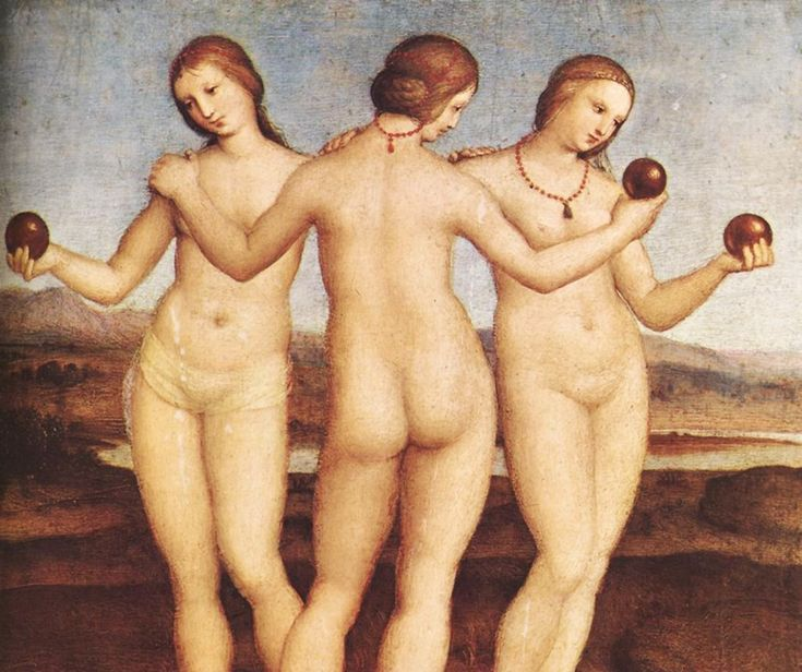 Image result for three graces in renaissance painting