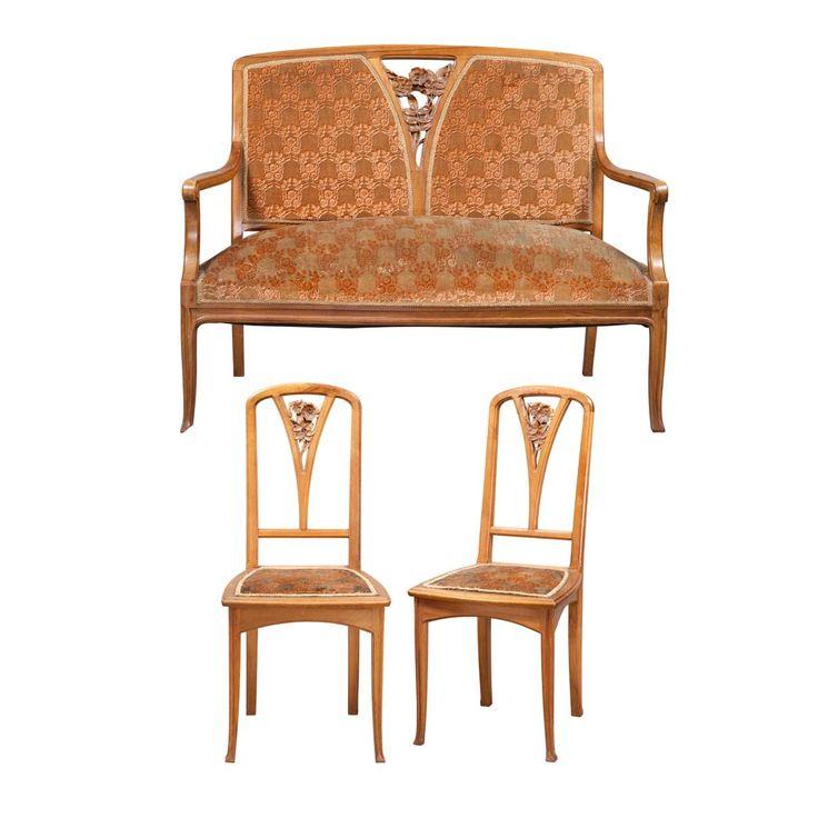 Art Nouveau Walnut 3 Piece Bedroom Suite: Les 10 Meilleures Images Du Tableau Victor Prouvé Sur