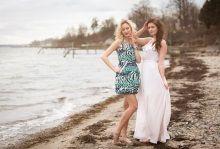 S/S 2015 Short dress in cotton and long dress in silk  www.juliejespersen.com
